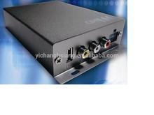 Car DVB-T2 receiver with 2 antennas
