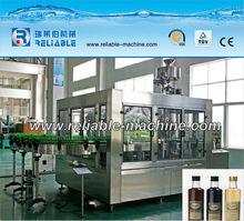 PLC Control Glass Bottle Filler and Capper