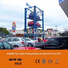 Speed Smart Lift Four Post Quad Car Parking Storage System