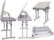 Folding Adjustable Drawing Table for Architecture students