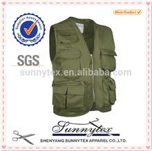 Sunnytex China Men Sleeveless fishing hunting vest