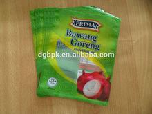 plastic onion packing bag