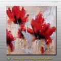 fotos artesanal para a tela de pintura de flores a partir de xiamen fábrica