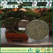 SEEK calcium cyanamide fertilizer replaced by bamboo organic fertilizer
