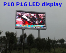 easy installation p16 outdoor rental led display full color video led outdoor full color p10 display board