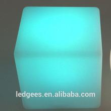 Cool Bar/club/party/wedding/KTV/hotel Floating Waterproof make led cube
