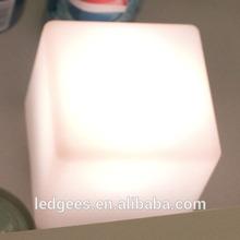 Cool Bar/club/party/wedding/KTV/hotel Floating Waterproof glowing led cube