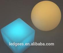 Cool Bar/club/party/wedding/KTV/hotel Floating Waterproof led decorative led cube light