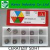 original brand cnc insert, SDHT 0903AEFN-27P tool cnc inserts, indexable cnc inserts
