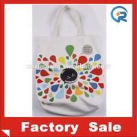 Wholesale Cheap 100% cotton canvas tote bags/wholesale plain canvas tote bags/organic cotton bag