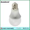 2835 A70 milky for school 5w led rgb bulb remote