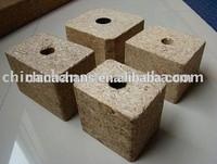 Best selling wooden blocks for pallet compressed wood pallet