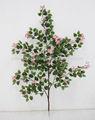 Mini maple leaves pano/tecido/artificial folhas de árvores de flores e folhas de azaléias/buganvílias