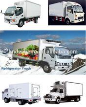 CKD cargo dry van box truck body/ cargo van truck/ckd refrigerated truck body,polyurethane insulated