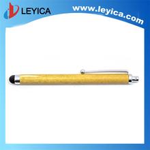 novelty stylus pen stylus touch pen wooden stylus pen