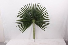 Mini maple leaves cloth/fabric/artificial tree leaves fan palm leaf