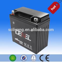 12V sealed lead acid maintenance free motorcycle battery 12N9-BS 12V9AH SMF BATTERY
