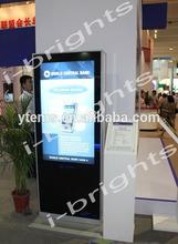 55inch LG floor standing indoor advertising kiosk