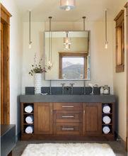 Ritz double sink bathroom vanity design RZDB07/ Hotel bathroom cabinet/Bathroom vanity