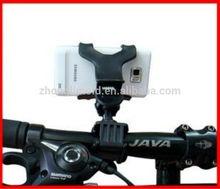 360 Degree Rotating Universal Dual Clips Mobile Phone Holder For Bike
