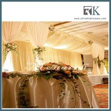 Fashion backdrop drapes for wedding