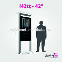 "42"" shopping mall games information wifi 3G touchscreen"