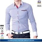 contrast color Latest mens shirts design for man