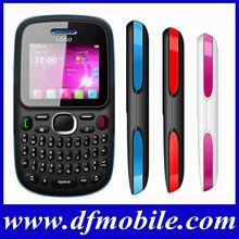 Low Cost 2.0 INCH QVGA Qwerty Keyboard TV Quad Band Dual SM Card GPRS WAP Unlocked Blu Cell Phones Dual SIM D101