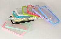 For iphone5 transperant hard pc case