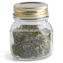food grade glass jars, glass herb storage jars