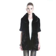 Qd30096 personalizado natural mink fur coats mulheres loja de roupas on line