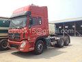 Dongfeng 6x4 usado trator cabeças de caminhão para a venda, tractor cisterna de água