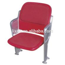 Indoor stadium folded plastic chair