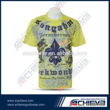 custom made t-shirt 100% polyester t-shirt