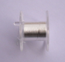 0.30mm 99.99% High Pure Silver Wire non resistance wire