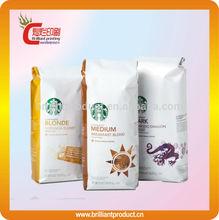 coffee bags with valve, coffee bean packaging bags,coffee tea bags