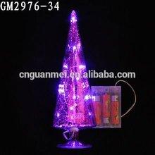 High Fashion Latest Glass LED Christmas Tree Light
