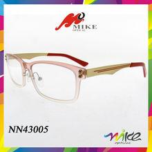 2014 popular designer eyeglass frames nylon temple spectacle frames