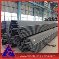 Cold Rolled U Shape Steel Sheet Pile