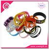 Promotional elastic silicon bracelet wrist band