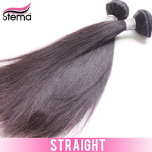 Gold supplier raw unprocessed virgin indian hair straight 6A grade wholesale low price