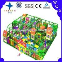 2014 WQX hot sale plastic jungle gym for daycare center
