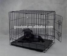 Wholesale Large Metal Foldable Dog Crate Dog Kennel Dog Cage
