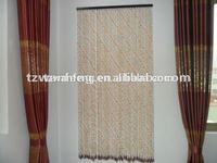 Wooden bead door curtain plastic curtain accessories