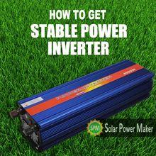 12 volt 220 volt inverter 1500 watt modified sine wave power inverter