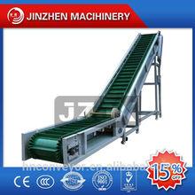Carbon steel& Stainless steel Skirt Conveyor Belt Machine