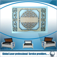 Laser cutting and engraving for leather, cloth, wood,double heads laser cutter,Leather Thong Cutting Machine