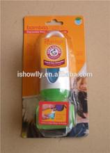 Pet degradable pooper scooper with 3 rolls bags/dispenser refills with tie handle/cylinder shape waste bag case holder