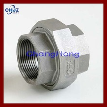 SS304 SS316L Stainless Steel Pipe Fitting Union Direct FACTORY/ Manufacturer