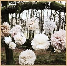 baby shower decorations tissue paper ball flower garland